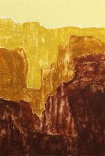"Martha Slaymaker ""Navajo Inheritance State II"" Signed Numbered Collagraph Art"