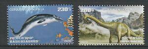 Armenia 2020 Dinosaurs 2 MNH stamps