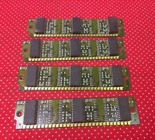 LOT OF 4 IBM 37F2016E 256K 30-pin SIMM Memory