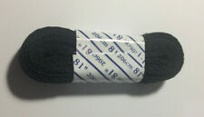 Skate Laces For Roller Skates/Blades - Ice Skates Black 81 Inches Long 8Mm Wide.