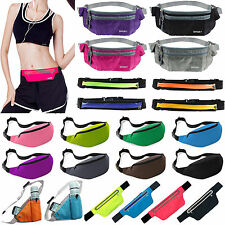Running Cycling Waist Pouch Bag Fanny Pack Sport Travel Holiday Belt Zip Bum Bag