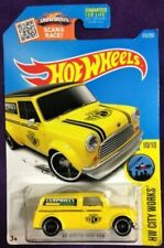 2016 Hot Wheels - HW City Works - 67 Austin Mini Van - Yellow - #10/10 - 175/250