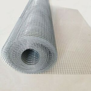 1200mm 6x6x0.57mm 30mRoll Mouse Vermin Birds Snake Mesh Galvanized Wire Mesh