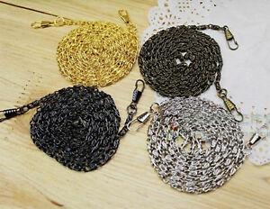 40 ~ 120 CM  Shoulder Strap Metal Chain for Handbag & Bag & Sewing #L03