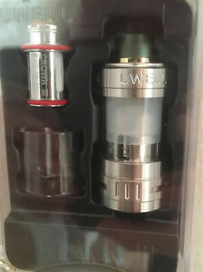 100% Genuine UWELL Crown III Crown 3 Sub Ohm Tank 2 Coils, extra glass and parts