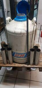 AirLiquide Typ GT38 Stickstoffbehälter Cryogebhälter Liquid Nitrogen 38L