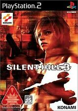Used PS2  KONAMI Silent Hill 3 SONY PLAYSTATION JAPAN IMPORT