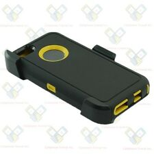 Black Yellow iPhone 5c w/(Clip Fits Otterbox Defender Case Cover)&Screen