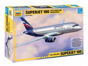 Zvezda 7009 SUPERJET 100 Civil Airliner Model Kit 1/144