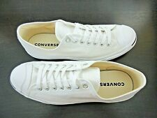 Converse Mens Jack Purcell CP OX Classic Canvas White Shoes Size 10.5 New 1Q698