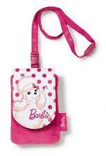 NICI 33989 Barbie Mobile phone case Pudel Sequin Plush/Leatherette