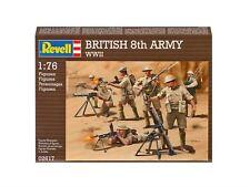 Revell Británico 8th EJÉRCITO II Guerra Mundial 1:76-02617-Modelo Kit