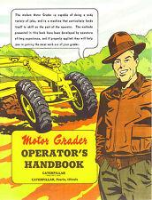 Caterpillar Motor Grader Operator Handbook 1951