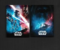 Topps 2019 Star Wars Rise of Skywalker Movie Poster Cards ROSP 1 & ROSP 2