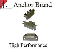 3 PCS Motor & Transmission Mount Kit for Firebird 7.5L 455 Engine 71-74 TH400
