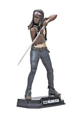 "Walking Dead Serie TV COLORE TOP ROSSO Michonne 7"" Figura McFarlane"