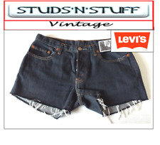 "LEVIS  VINTAGE WOMENS 599'S LOW WAISTED SHORTS SIZE 28"" APROX SIZE 8  (A25 )"