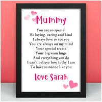 PERSONALISED Mummy Nanny Granny Nan Mum Birthday Gifts from Daughter Son Baby