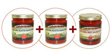 2 Carolina Reaper Pepper Paste + 1 Ghost Pepper Paste!!! The Hottest Peppers