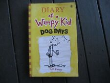 DAIRY OF A WIMPY KID - Dog Days by Jeff Kinney (Paperback, 2009 GREAT READ CHEAP