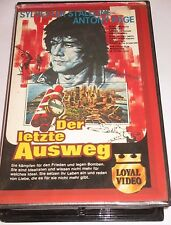 Loyal Video 3468 - Der letzte Ausweg - VHS/Thriller/Sylvester Stallone/rar