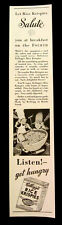 Vintage Rice Krispies print ad 1933 Snap, Crackle, Pop - Firecracker