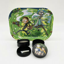 Grinder + Plateau de roulage Rick et Morty ( Breaking Bad )