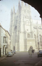 MRSAAA-104 Original 35mm Collectable Slide Westminster Abbey & Cars London 1960s
