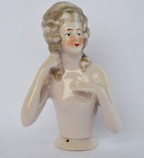 Antique German Porcelain China Half Doll