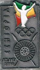 1996 Atlanta Ethiopia Olympic Team Participant NOC Pin