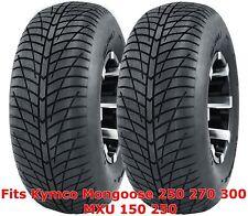 (2) Kymco Mongoose 250 270 300 MXU 150 250 front 21x7-10 Hi-speed ATV tires