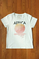 REMI RELIEF Africa Boat Neck T-Shirt Size XS MADE IN JAPAN