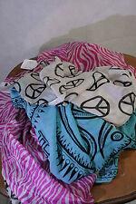 Plomo O Plata Tuch rosa/helblau/weiß Seide  295x97  06/07