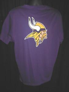 Minnesota Vikings Men's NFL '47 Brand  Front and Back Design Shirt
