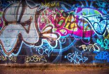 Abstract Art Graffiti Wall 7x5ft Photography Backgrounds Studio Photo Backdrops