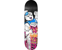 DEATHWISH Jamie Foy Big Puff Ghostbusters Marshmallow Man 8.0 Skateboard Deck