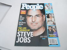 OCT 24 2011 PEOPLE magazine (NO LABEL) UNREAD - STEVE JOBS death