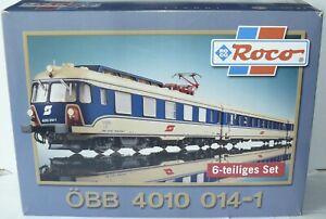 Roco H0 69040 AC ++ Triebzug 4010 Transalpin ÖBB 6-tlg. ++ Digital OVP #D5_328