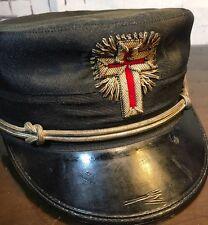 "*RARE* Masonic Knights Templar ""FATIGUE"" HAT Freemasons Cap Henderson AmesCross"