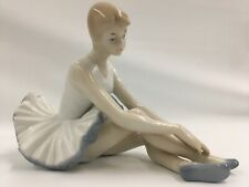 New ListingDuncan Royale Porcelain Resting Ballerina 5� Tall 4� Wide 7� Long