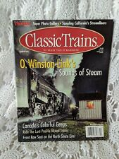 Classic Trains Magazine O. Winston Link's Summer 2001