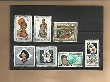 """Lot Briefmarken """"Rwandaise / Ruanda """" (Teil 1)"""