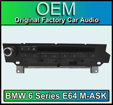 BMW 6 Series E64 M-ASK MK2 BMW 6 Series car stereo, Radio MP3 CD player