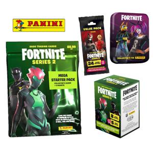 Panini Fortnite: Series 2 Trading Cards - Packs, Blaster Box, Value Packs & Tins