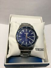SEIKO Solar Blue Dial Stainless Steel Watch - SNE391
