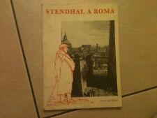 Stendhal a Roma Edizione dell'elefante Arte Letteratura Catalogo Mostra