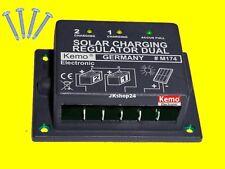 NEU! KEMO M174 DUAL-SOLARLADEREGLER Photovoltaik-Laderegler 12 V/DC (in:15V-30V)