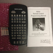 BRAND NEW 63407203 Adaptive Micro Systems Alpha Remote Control LEDSigns & Manual