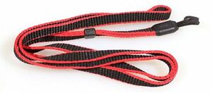 WRIST STRAP RED/BLACK VINTAGE