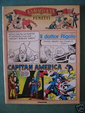 """CAP. AMERICA, DR RIGOLO """"GRANDE AVVENTURA FUMETTI"""" # 24"""